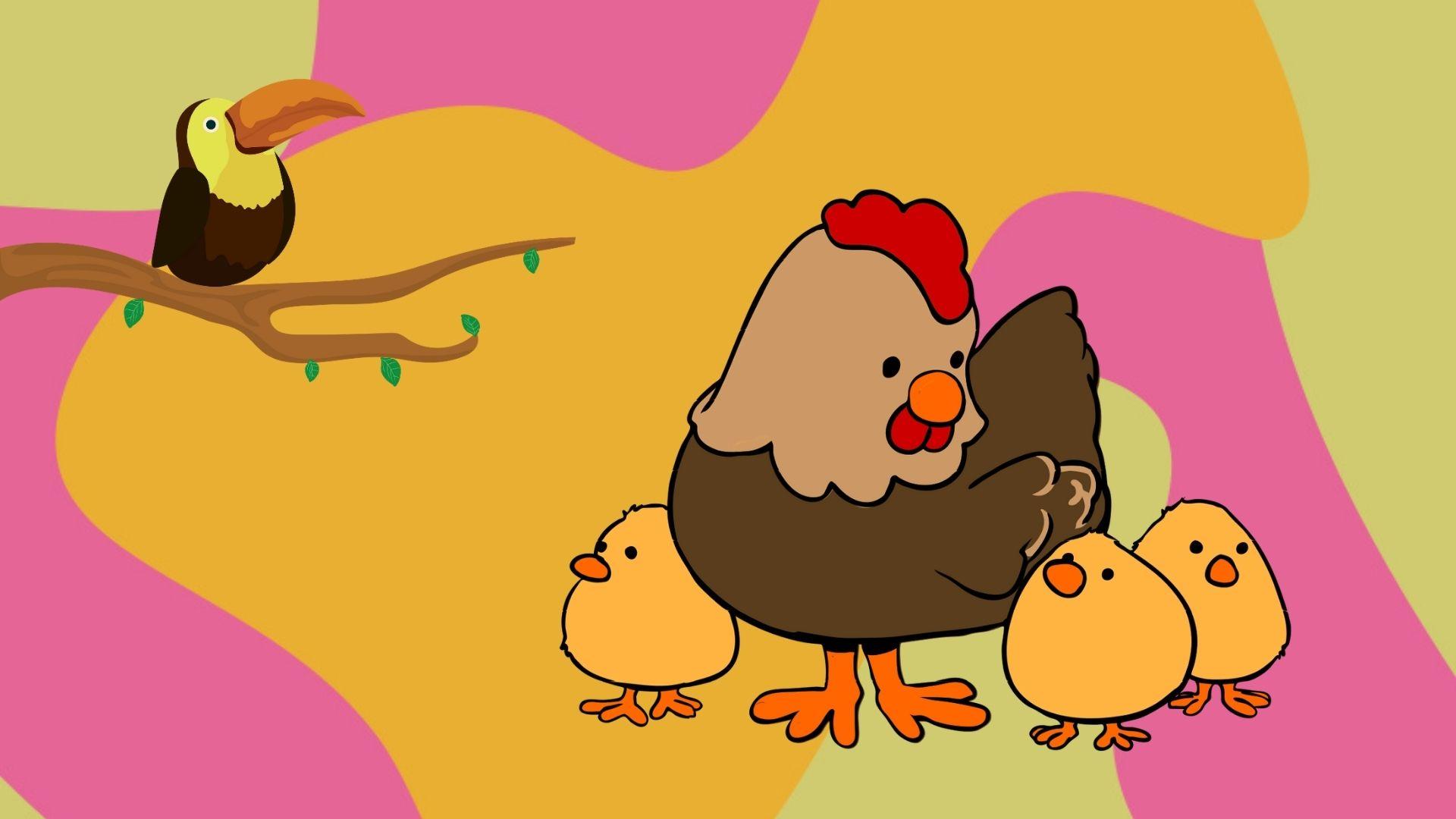 Poveste distractiva si educativa pentru copii - Micuțul Cioca-boca