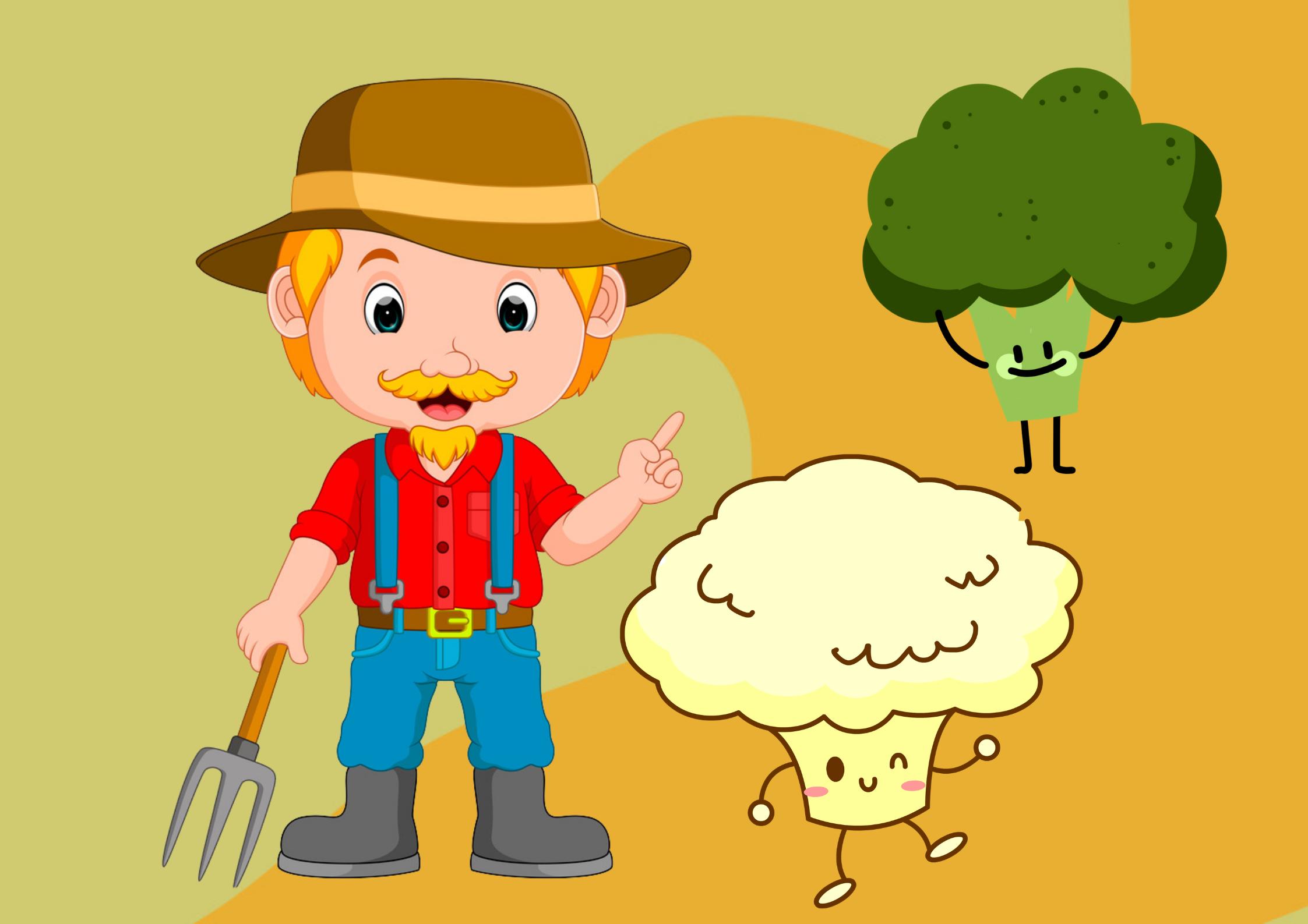 Poveste educativă pentru copii - Frățiorii din grădina lui Nea Ghiță