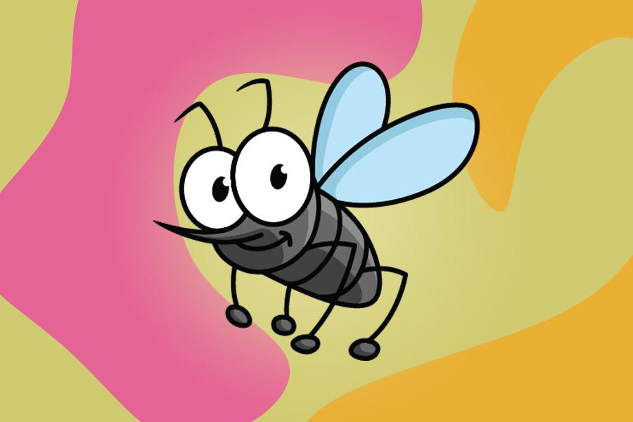 Poveste educativa pentru copii - Doru, un țânțar altfel.